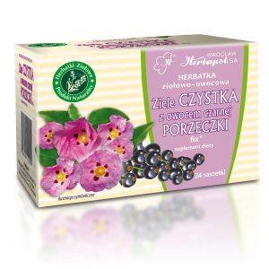 Herbatka owocowo-ziołowa Czystek z czarną porzeczką