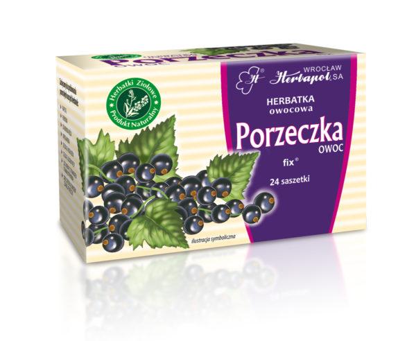 Herbatka owocowa z czarnej porzeczki