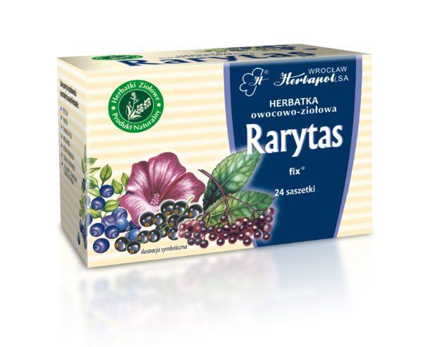 herbatka ziołowo-owocowa Rarytas fix