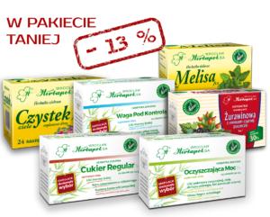 pakiet herbatek ziołowych FIT na Wiosnę